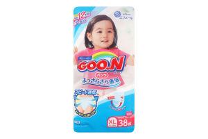 Трусики-підгузники Goo.N для дівчаток 12-20 кг розмір Big XL 753715