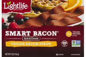 Lightlife Smart Bacon Meatless Veggie Bacon Strips