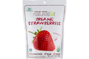 Natierra Freeze-Dried Nature's All Foods Organic Strawberry