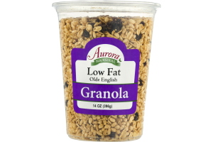Aurora Natural Low Fat Olde English Granola