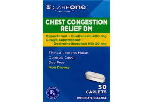 CareOne Chest Congestion Relief DM - 50 CT