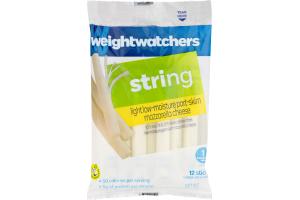 Weight Watchers String Mozzarella Cheese - 12 CT