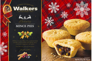 Walkers Mince Pies - 6 CT