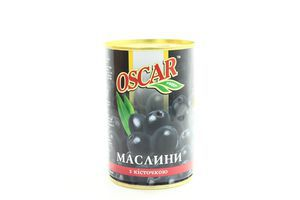 Маслины с косточкой Oscar ж/б 300г