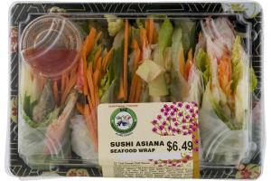Ace Sushi Asiana Seafood Wrap