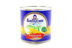 Кукурудза Бабусин Продукт консервована 340г