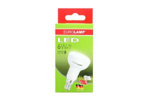 Лампа Eurolamp LED світлодіодна Е14 6Watt 4000K