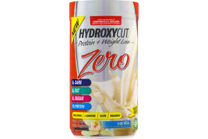 Hydroxycut Zero Protein + Weight Loss Dietary Supplement Vanilla