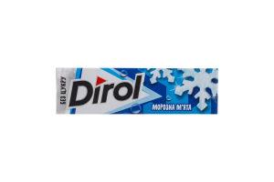 Резинка жевательная без сахара Морозная мята Dirol м/у 14г