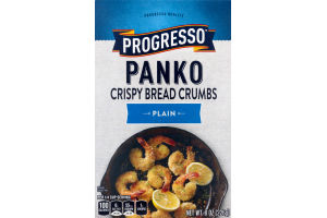 Progresso Panko Crispy Bread Crumbs Plain