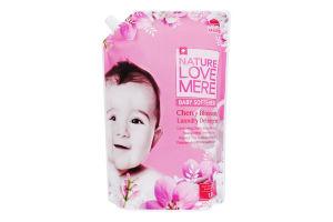 Кондиционер для детской одежды с ароматом цветения вишни NatureLoveMere 1.3л