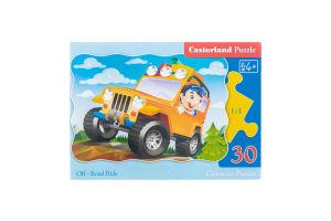 Пазл для детей от 3лет №3211 Сontour Puzzle Castorland 30эл