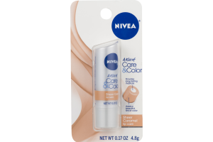 Nivea A Kiss of Care & Color Lip Care Sheer Caramel