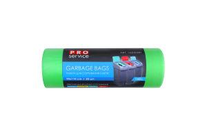 Пакети для сміття 90х110см 160л №16200200 PRO service 20шт
