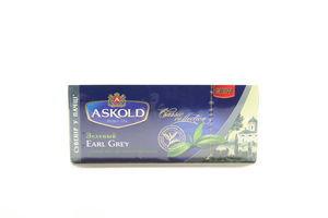 Чай зелёный с ароматом бергамота Earl Grey Classic Collection Askold к/у 25х1.75г