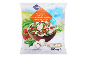 Смесь овощей Премія заморож Овощи с шампиньйонами