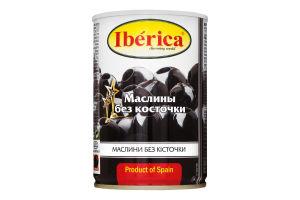 Маслини без кісточки Iberica з/б 420г