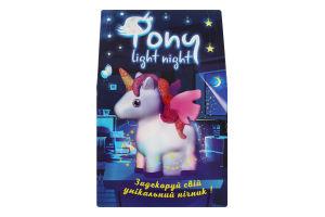 Набір для творчості для дітей 3-10років №30704 Pony light night Strateg 1шт