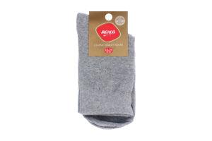 Шкарпетки чоловічі Marca №M103L 23-25 сірий
