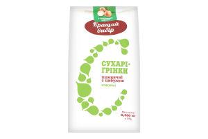 Сухарі-грінки з цибулею Класичні упак. 0,300 упак.