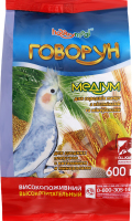 Корм для середніх папуг Медіум Говорун HobbyMeal м/у 600г