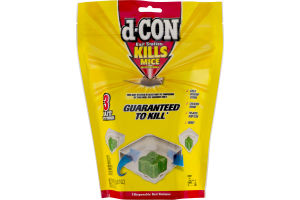 d-CON Kills Mice Bait Stations - 3 CT