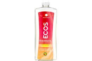 Ecos Dishmate Dish Liquid Grapefruit