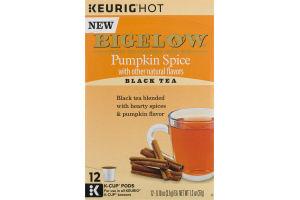 Bigelow Pumpkin Spice Black Tea K-Cup Pods - 12 CT
