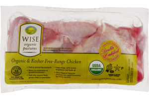 Wise Organic & Kosher Free-Range Chicken Wings