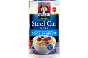 Quaker Steel Cut Oats 100% Natural Whole Grain Oats