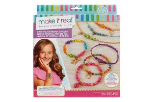 Набір для дітей від 8років для створення шарм-браслетів №MR1315 Кришталева веселка Make it Real 1шт
