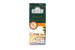 Чай черный Ceylon Orange Pekoe Ahmad Tea к/у 25х2г