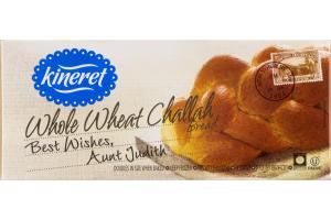 Kineret Whole Wheat Challah Bread