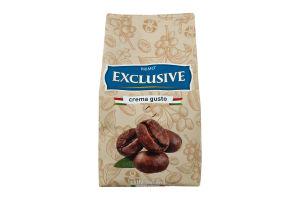 Кофе натуральный жареный в зернах первого сорта Exclusive Crema Gusto Primo м/у 500г
