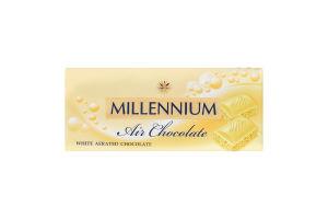 Шоколад білий пористий Millennium м/у 90г