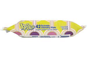 Kandoo Flushable Cleansing Wipes Sensitive - 42 CT