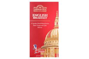 Чай Ahmad Tea Англійський до сніданку 50г х20