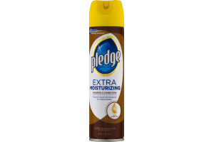 Pledge Furniture Spray Extra Moisturizing With Lemon Oil