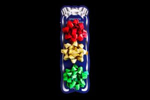Набір прикрас для подарунків Happycom (3 банти Гелексі) 23852