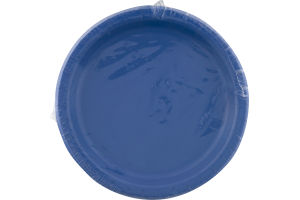 Smart Living Collection Lunch Plates True Blue - 24 CT