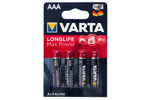 Батарейка AAA 1.5V LR03 №4703 Varta 4шт