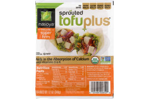 Nasoya Sprouted Tofu Plus Organic Super Firm