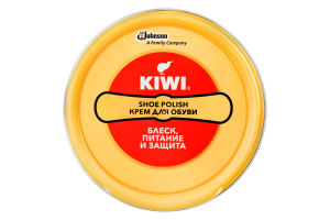 Крем для обуви нейтральный Shoe Polish Kiwi 50мл