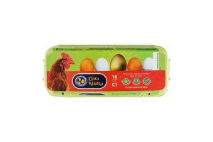 Яйця курячі першої категорії Zlata Kladka к/у 10шт