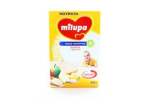 Каша молочная манная с фруктами Milupa Nutricia к/у 230г