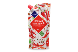Кетчуп Премія Острый д/п
