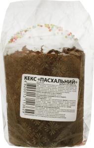 Кекс Пасхальний ТДВ Запорізький хлібозавод №5 м/у 120г