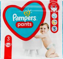 Трусики-підгузники для дітей 6-11кг 3 Pants Pampers 29шт