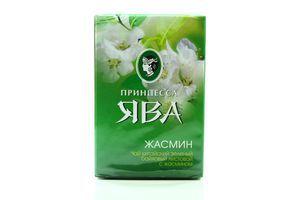 Чай зеленый листовой с жасмином Принцесса Ява к/у 90г