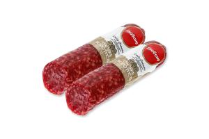 Ковбаса із м'яса птиці Салямі Золотиста Глобино с/к кг